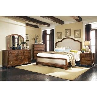 Claire Rustic Brown 6-piece Panel Bedroom Set