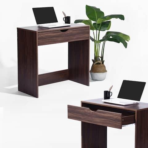 Porch & Den Rachel Wooden Computer/ Writing Desk with Drawer