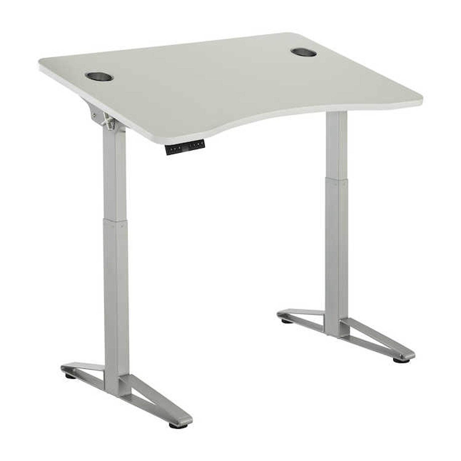 Shop Safco Defy Electric Adjustable Height Desk Base   Free Shipping Today    Overstock   28216027
