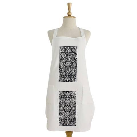 Handmade Thai Floral Cotton apron (Thailand)