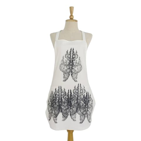 Handmade King of Nagas Cotton apron (Thailand)