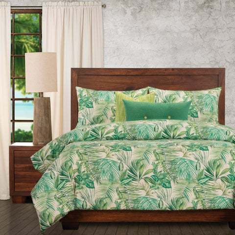 Ernest Hemingway Key west Tropical 6 Piece Duvet Cover Set with Duvet Insert