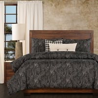 Ernest Hemingway Palm Shadow 6 Piece Duvet Cover Set with Duvet Insert