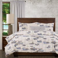 Ernest Hemingway Pilar 6 Piece Duvet Cover Set with Duvet Insert