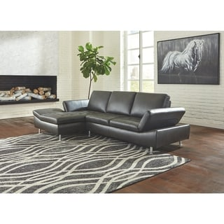 Carrnew 2-Piece Sectional with Left Facing Chaise - Gray