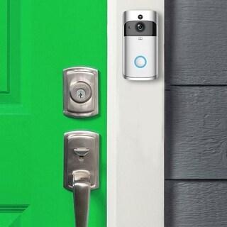 Smart Wireless Doorbell HD 720P WIFI Wireless Video Doorbell-Batteries Included