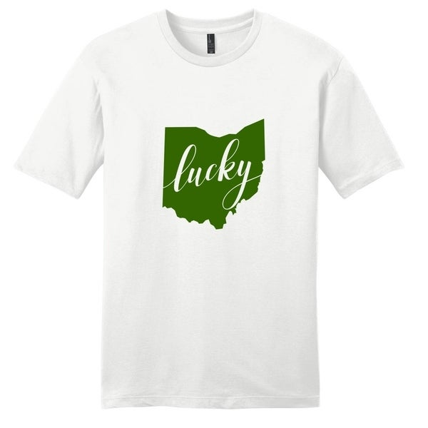 Lucky Ohio T-Shirt - Unisex Fit St. Patricks Shirt