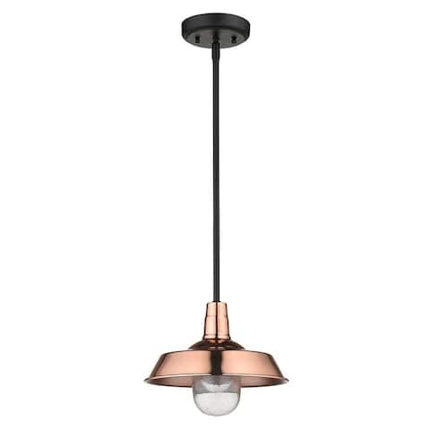 Burry 1-light Copper Exterior Convertible Pendant