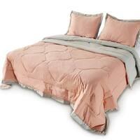 Kasentex Comforter Set Reversible Alternative Goose Down Filling