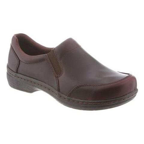 Klogs USA Arbor Mens Clog Slip On Shoes Mahogany