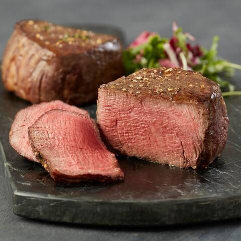 Chicago Steak Company 4 (8-oz) Premium Angus Beef Filet Mignons
