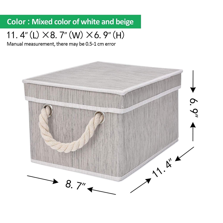 Toy Storage Cotton Rope Decorative Baskets for Laundry Storage Baskets Terracotta Woven Basket Closet