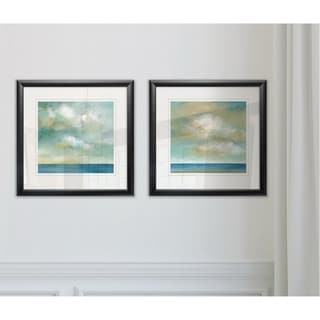 Link to Wexford Home 'Cloudscape I' 2-piece Framed Art Set Similar Items in Matching Sets