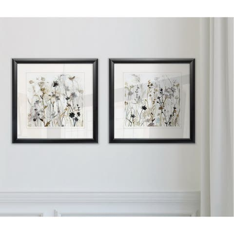 Wexford Home 'Wildflower Mist I' Framed Set