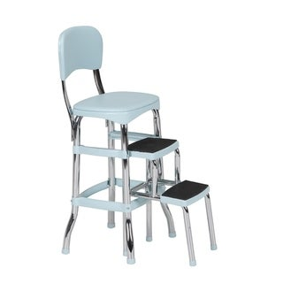 COSCO Stylaire Retro Chair/ Step Stool with sliding steps