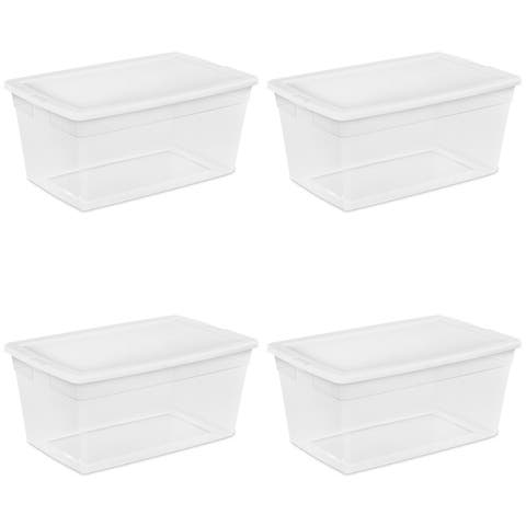 Sterilite, 90 Qt./85 L Storage Box, White