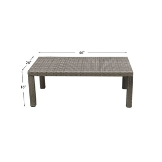 Comal Coffee Table, Outdoor Furniture
