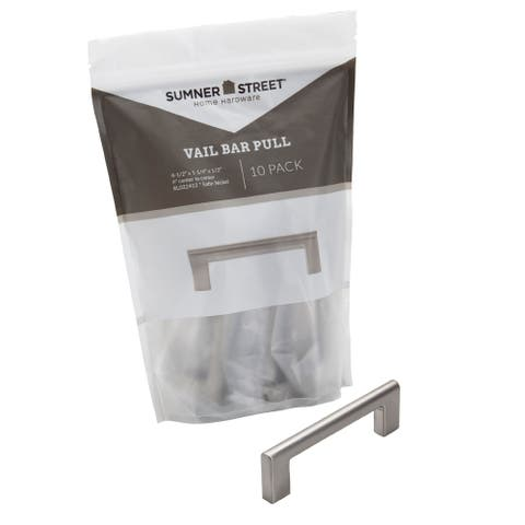 "Vail 4"" Bar Pull (Pack of 10)"