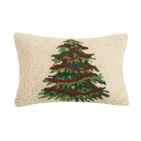 Christmas Tree Hook Pillow