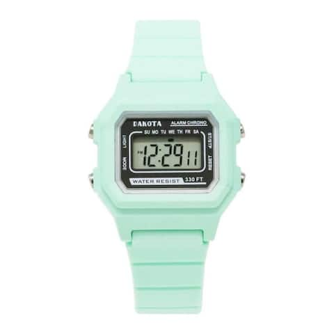 Dakota Ladies and Kids Small Retro Digital Water Resistant Sport Watch