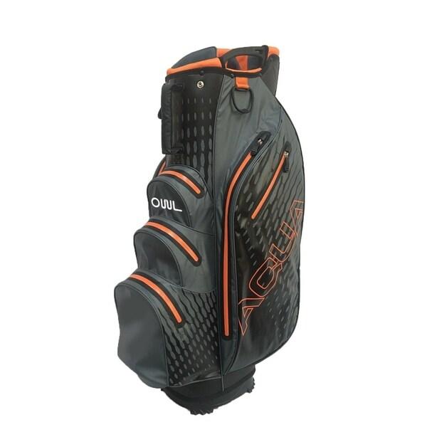 Aqua Waterproof cart bag Gray/Orange