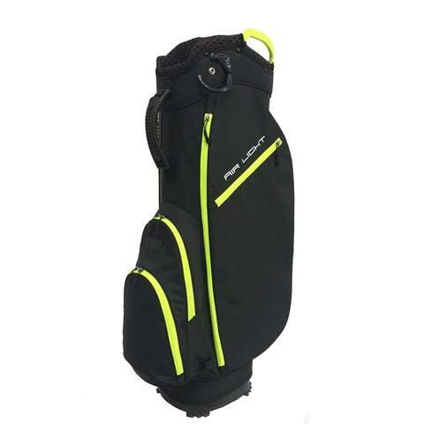 Airlight SC 14 way Cart bag Black/Neon Yellow