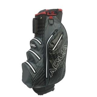 Link to Aqua Waterproof cart bag Gray/White Similar Items in Golf Bags & Carts