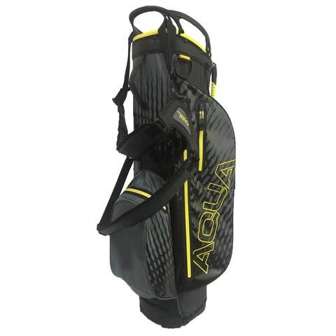 Aqua waterproof stand bag Gray/Yellow