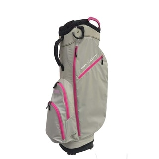 Link to Airlight SC 14 way Cart bag Light Gray/Pink Similar Items in Golf Bags & Carts