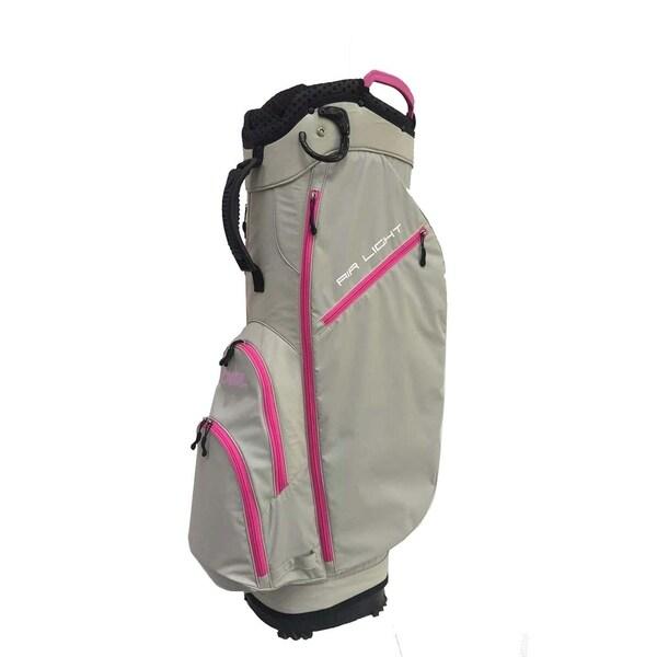 Airlight SC 14 way Cart bag Light Gray/Pink. Opens flyout.