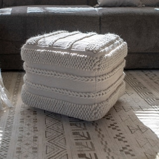 Link to Winifred Square Pouf Similar Items in Decorative Accessories