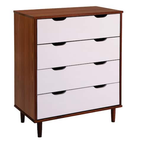 Carson Carrington Uddberga 4-drawer Wood Horizontal Chest