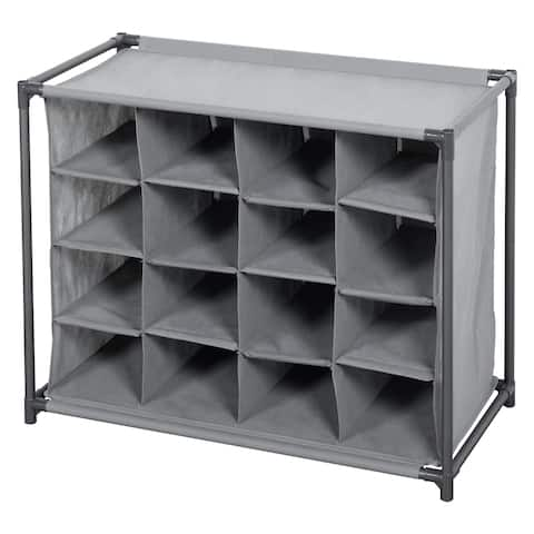 CUBE IT/GREY 16 Compartment Storage