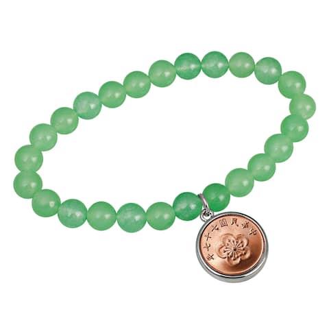 Lucky Blossom Coin Bracelet