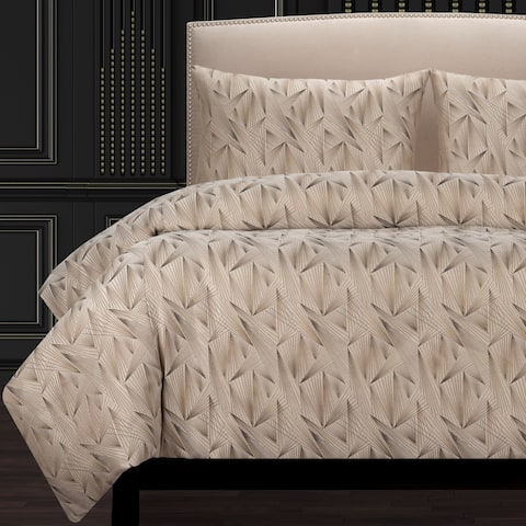 F Scott Fitzgerald Fine Point Sable Luxury Duvet Cover
