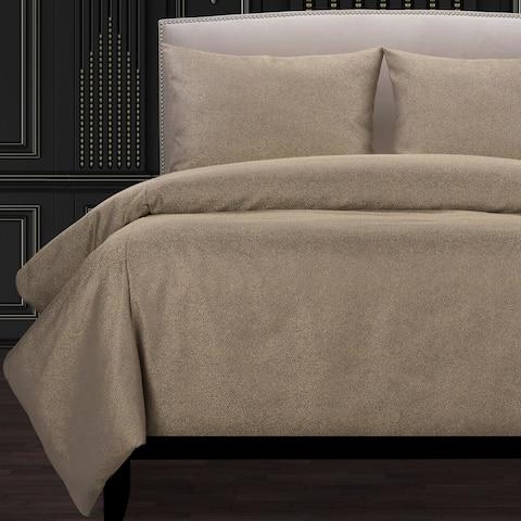 F Scott Fitzgerald Effervescent Spa Luxury Duvet Cover