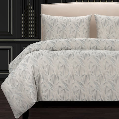 F Scott Fitzgerald Fine Point Mineral Luxury Duvet Cover
