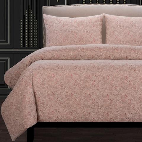 F Scott Fitzgerald Garden Party Rose Luxury Duvet Cover