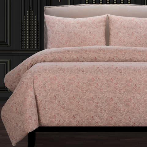 F Scott Fitzgerald Garden Party Rose Luxury Duvet Cover