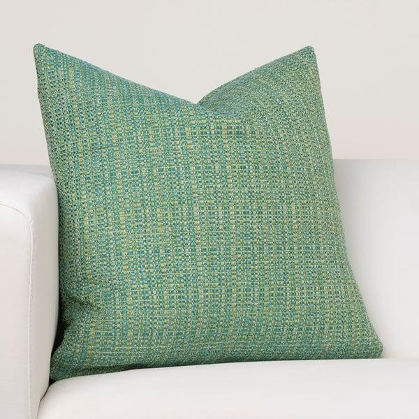Ernest Hemingway Cuban Breeze Green Designer Throw Pillow