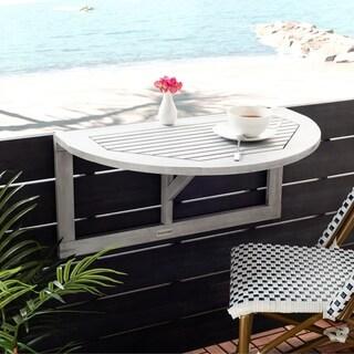 "Safavieh Outdoor Living Owens Balcony Hanging Half Table - 16.5"" x 27.6"" x 13"""