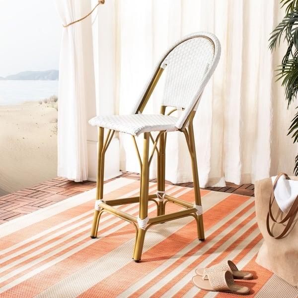 Remarkable Shop Safavieh Outdoor Living Indoor Outdoor Gresley Bistro Machost Co Dining Chair Design Ideas Machostcouk