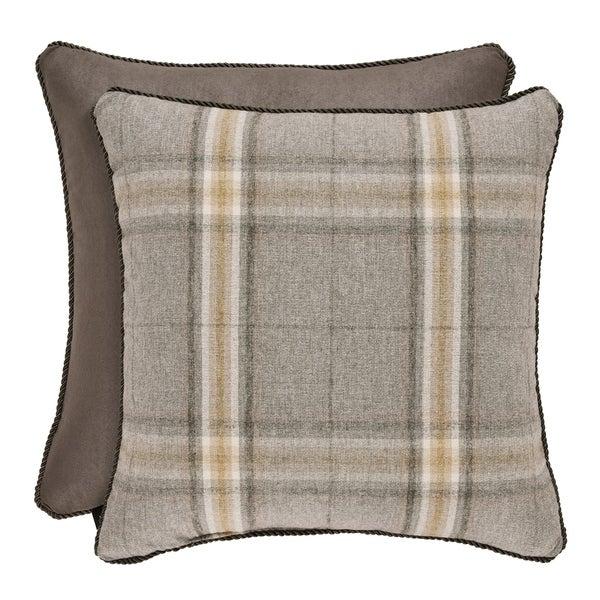 Five Queens Court Jamison 18 Inch Square Decorative Throw Pillow