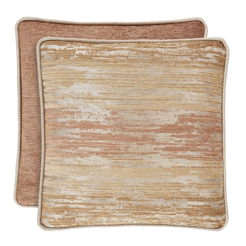 Copper Grove Munder Coral 16-inch Square Decorative Throw Pillow