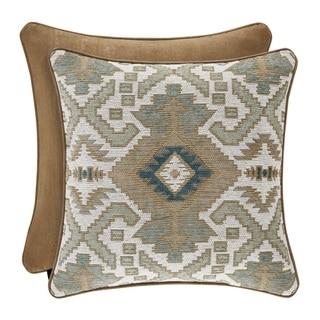 Five Queens Court Plainview 20 Inch Square Decorative Throw Pillow