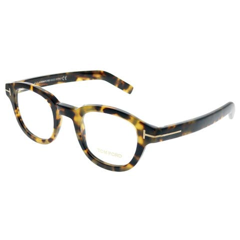 fede8291ec Tom Ford FT 5429 055 45mm Unisex Vintage Yellow Havana Frame Eyeglasses 45mm