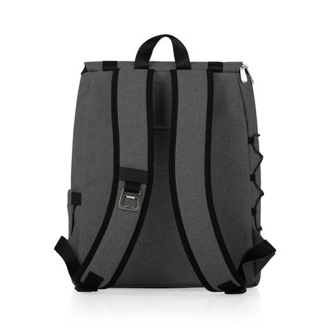 On The Go Traverse Cooler Backpack, (Heathered Gray)