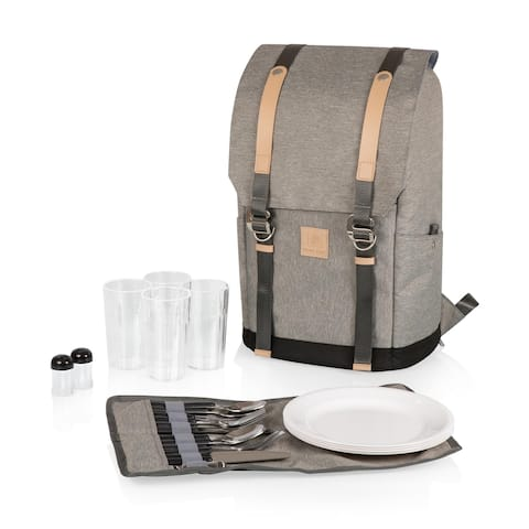 PT-Frontier Picnic Backpack (Heathered Gray)