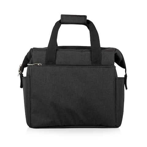 On The Go Lunch Cooler, (Heathered Gray)