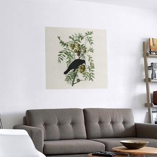 Link to Porch & Den John James Audubon 'American Crow' Removable Art Decal Similar Items in Vinyl Wall Art
